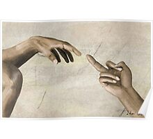 The (creation of the) Finger Poster