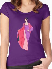 Art Deco 10 Women's Fitted Scoop T-Shirt