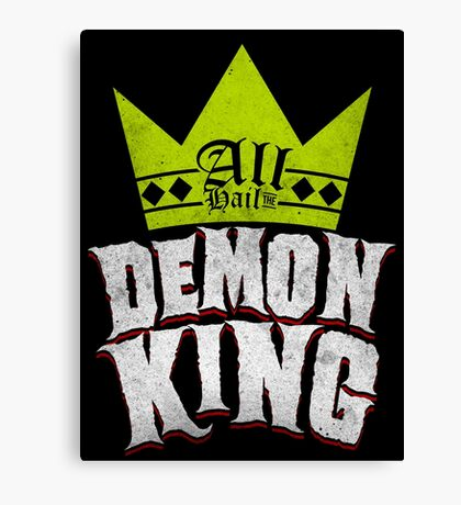 All Hail The Demon King Canvas Print