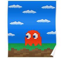 Blinky's 2D World Poster