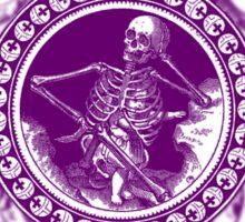 Fancy Skeleton Sticker