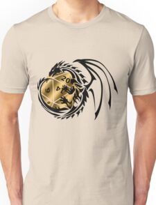 Dungeons and Dragons - Black and Gold! Unisex T-Shirt