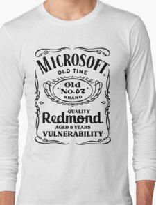 MS08-067 (black text) Long Sleeve T-Shirt