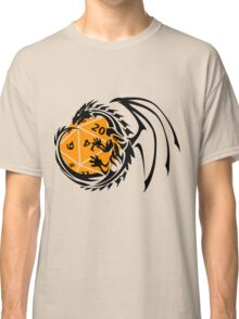 Dungeons and Dragons - Black and Orange! Classic T-Shirt