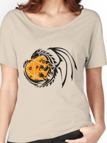 Dungeons and Dragons - Black and Orange! Women's Relaxed Fit T-Shirt