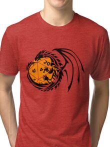 Dungeons and Dragons - Black and Orange! Tri-blend T-Shirt