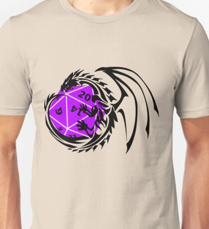 Dungeons and Dragons - Black and Purple! Unisex T-Shirt