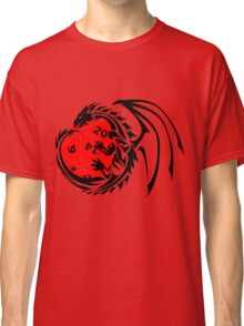 Dungeons and Dragons - Black and Red! Classic T-Shirt