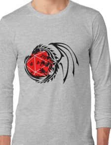 Dungeons and Dragons - Black and Red! Long Sleeve T-Shirt