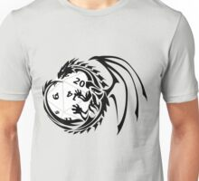 Dungeons and Dragons - Black and White! Unisex T-Shirt