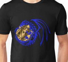 Dungeons and Dragons - Blue and Gold! Unisex T-Shirt