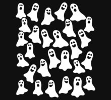 Ghosts One Piece - Short Sleeve