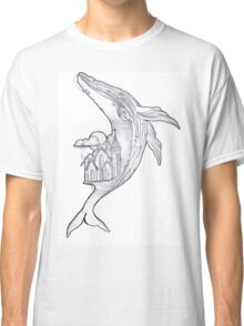 Fantasy Whale  Classic T-Shirt