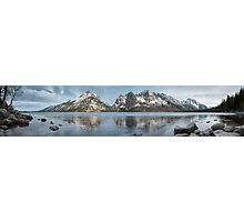 Jenny Lake Panorama Photographic Print