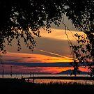 Steveston Sunset 1 by Melodie Douglas
