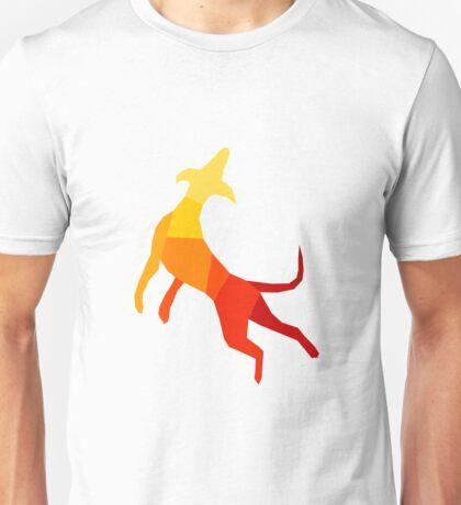 Abstract dog Unisex T-Shirt