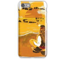 Jack Sparrow Sunset iPhone Case/Skin