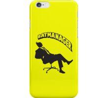 Batmanager iPhone Case/Skin