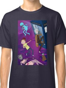 Rick and Morty - Doctor Who Mash Up!  Classic T-Shirt
