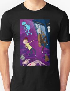 Rick and Morty - Doctor Who Mash Up!  Unisex T-Shirt