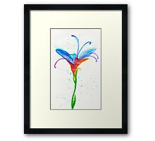 Fey Flower Framed Print