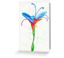 Fey Flower Greeting Card
