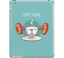 Coffee Strong iPad Case/Skin
