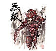 Mass Effect Urdnot Wrex Sumie style Photographic Print