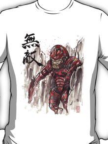 Mass Effect Urdnot Wrex Sumie style T-Shirt