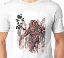 Mass Effect Urdnot Wrex Sumie style Unisex T-Shirt