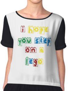 Step on a lego Chiffon Top