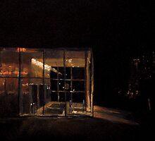Study of Garage Entrance of the Philadelphia Museum of Art by Monica Vanzant