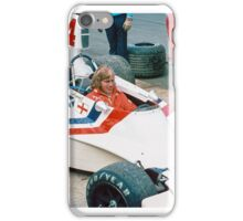 James Hunt with Hesketh iPhone Case/Skin