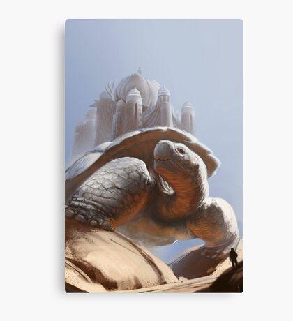 Turtle Temple Canvas Print