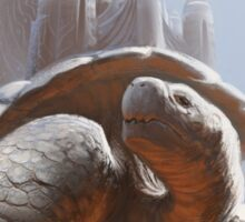 Turtle Temple Sticker