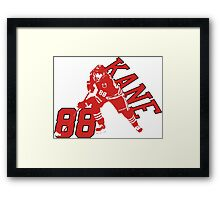 Patrick Kane chicago star Framed Print