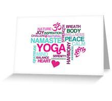 Joy of Yoga Greeting Card