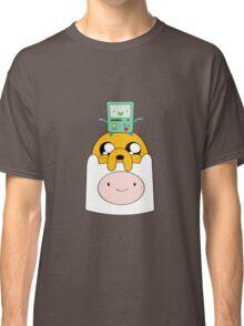 Adventure Time Totem - Finn, Jake and BMO Classic T-Shirt