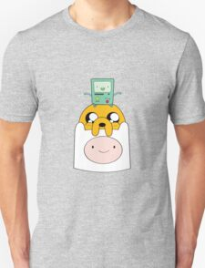 Adventure Time Totem - Finn, Jake and BMO Unisex T-Shirt