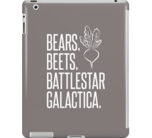 Bears Beets Battlestar Galactica iPad Case/Skin