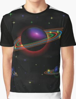 Night space background Graphic T-Shirt