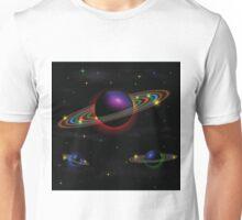 Night space background Unisex T-Shirt