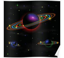 Night space background Poster