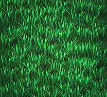 Green Grass Background by valeo5