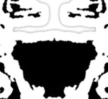 Rorschach test Sticker