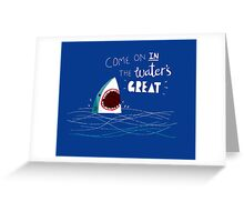 Great Advice Shark Greeting Card
