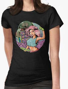 The Mechanic  Womens Fitted T-Shirt