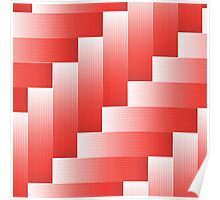 red parquet background Poster