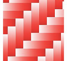 red parquet background Photographic Print