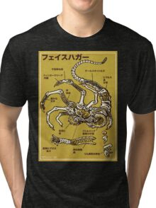Facehugger Tri-blend T-Shirt